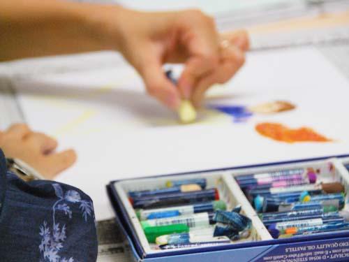 アートセラピストが提案する すぐに使える「カウンセリング技法講座」風景2
