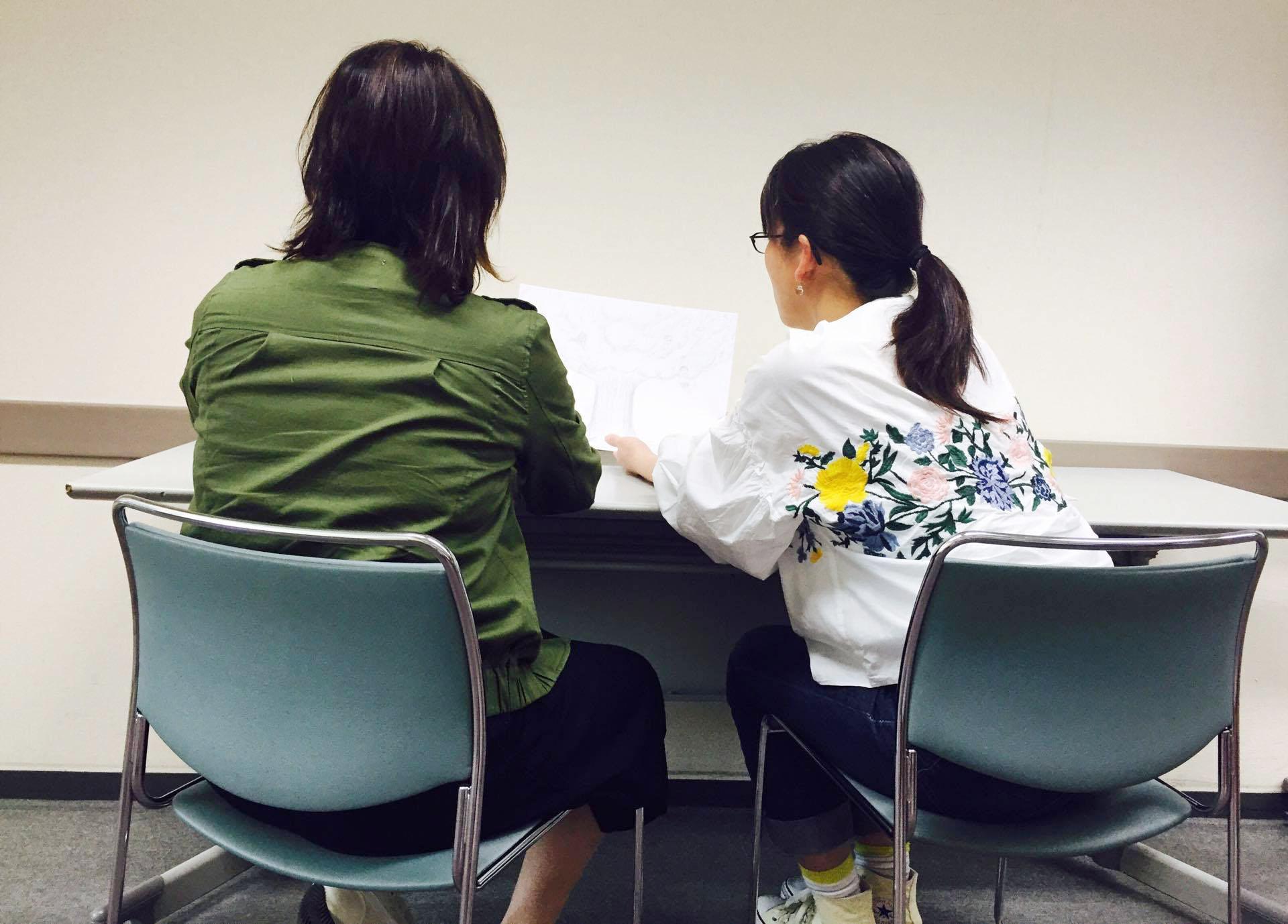 アートセラピストが提案する すぐに使える「カウンセリング技法講座」風景3