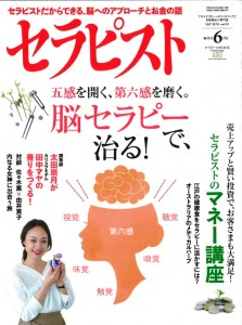 セラピスト2017年6月号脳セラピー表紙