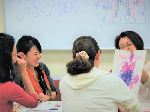 アートワークセラピー講座<アートアウェアネス>風景3